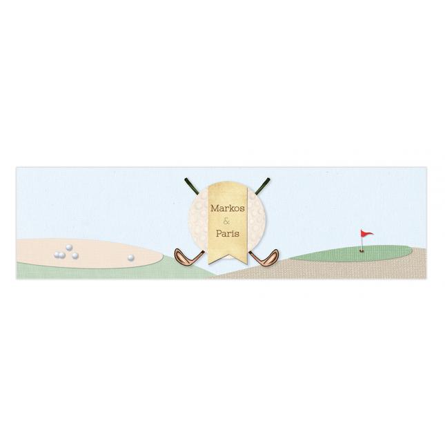 Golf Boy Twins Napkin Rings