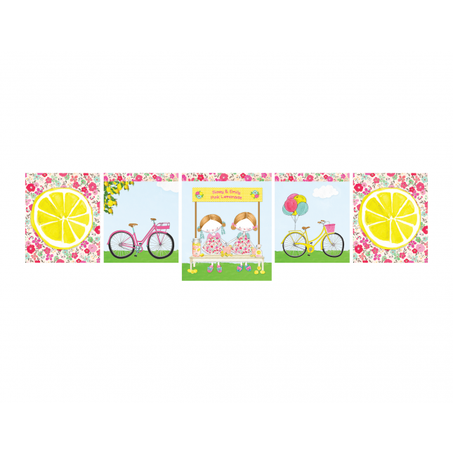 Pink Lemonade Decor Banner