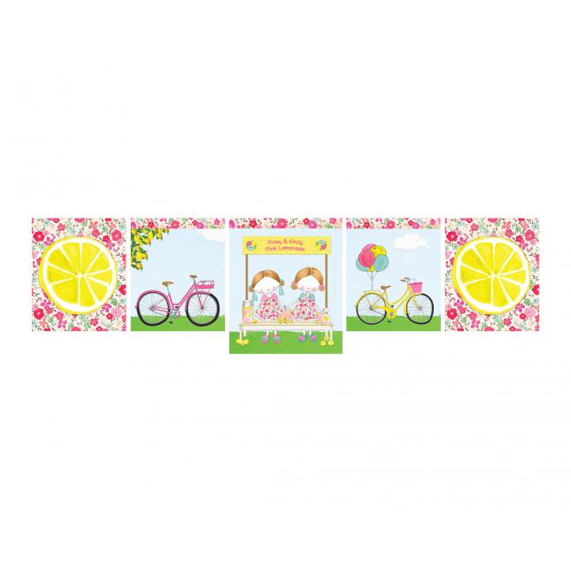 Pink Lemonade Decor Banner