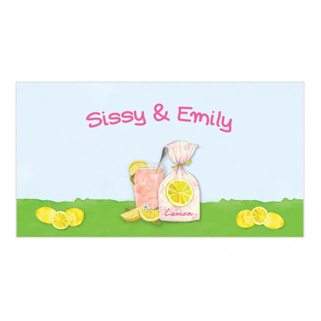 Pink Lemonade Envelope Sticker