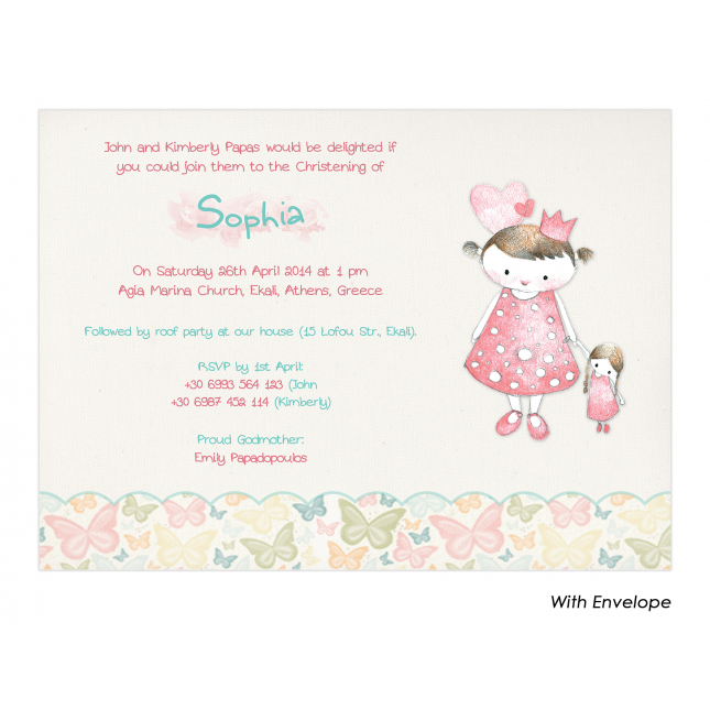Vintage Princess Invitation