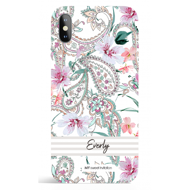 Paisley Bez Stripes Phone Case
