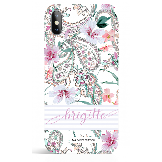 Paisley Express Yourself Purple  Phone Case
