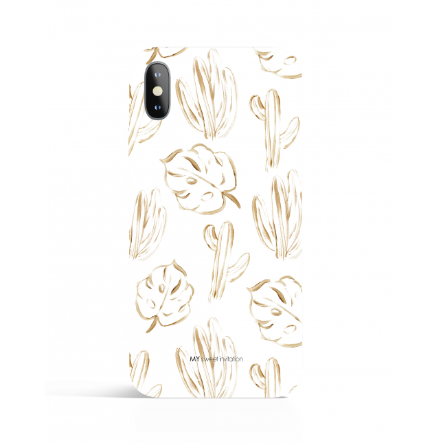 Urban Gold Palms Phone Case