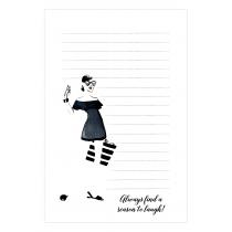 A Reason to Laugh Notepad | Virginia Romo