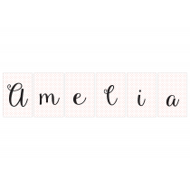 Amelia Personalized Banner