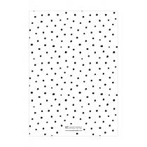 Black Dalmatian Personalized Planner