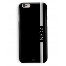 Black Lined Personalized Case