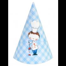 Little Boy Chef DIY Party Hats