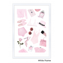 Chic in Pink Art Print | Maja Tomljanovic