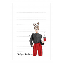 Christmas & Fashion Notepad | Maja Tomljanovic