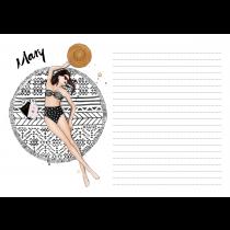 Days in Mykonos Personalzed Notepad | Maja Tomljanovic
