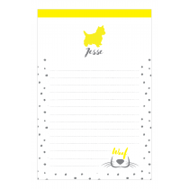 My Dog Personalized Notepad