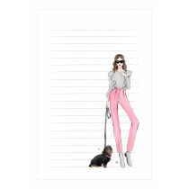Dog lover Notepad | Maja Tomljanovic