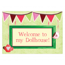 Dollhouse Welcome Sign