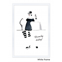 Dream Big Darling Art Print | Virginia Romo