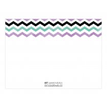 Chevron Premium Thank you Cards