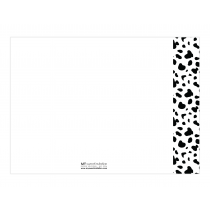 Dalmatian Premium Thank you Cards