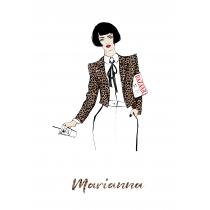 Fashion Addict Personalized Notebook | Maja Tomljanovic
