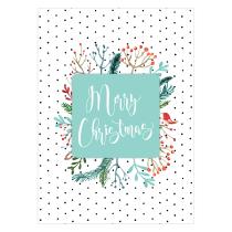 Festive Polka Greeting Card