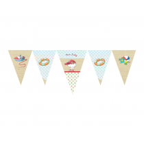 Boy Summertime Decor Banner