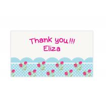Cupcake Mini Thank You Cards