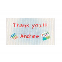 Art Studio for Boys Mini Thank You Cards