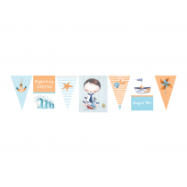 Little Sailor Decor Banner