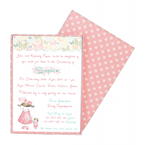 Vintage Princess Box Invitation