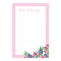 Focus on the Good Notepad