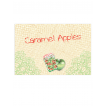 Green Apple Table Tags