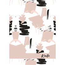 Free Art Kate Notebook/Agenda