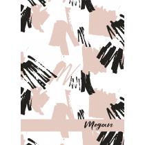Free Art Megan Notebook/Agenda