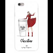 Monday Coffee Personalized Case | Maja Tomljanovic