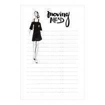 Moving Ahead Notepad | Virginia Romo