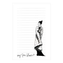 My Fav. Blanket Notepad | Virginia Romo