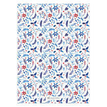 NOEL Folded Greeting Card