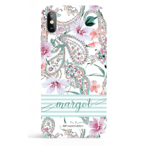 Paisley Express Yourself Green Phone Case