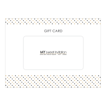 Polka Dot Gift Card