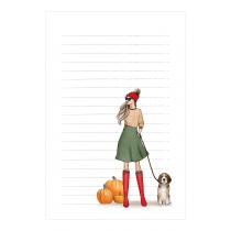 Pumpkin Notepad | Maja Tomljanovic