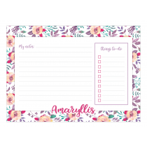Roses for you Personalized Planner