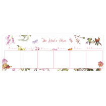 Secret Garden | Desk Weekly Planner