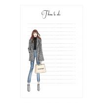Shopaholic Notepad | Maja Tomljanovic