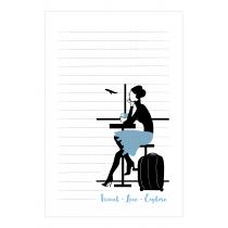 Travel & Live Notepad | Virginia Romo