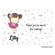 Lilly Thank You Cards
