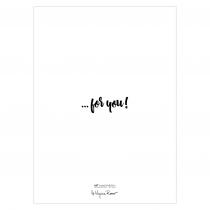 Warm Hugs Folded Greeting Card | Virginia Romo