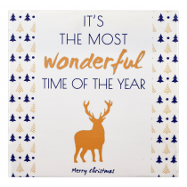 Wonderful Time Christmas Frame