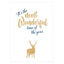 Wonderful Time Folded Greeting Card