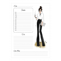 Working Girl - Brunette Planner | Maja Tomljanovic