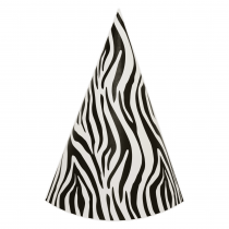 Zebra DIY Party Hats
